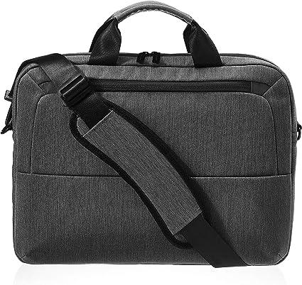 Basics schwarz Professionelle Laptop-Tasche f/ür Laptops bis 39,62 cm