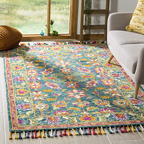 Safavieh Aspen Collection APN113K Handmade Wool Area Rug