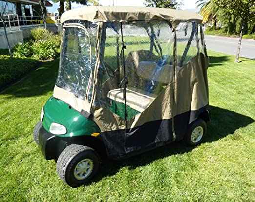 Amazon.com: Carrito de golf Driving Enclosure 2 plazas ...