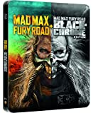Mad Max Fury Road Black And Chrome Limited Edition Steelbook / Import / Blu Ray.