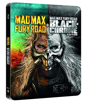 Mad Max Fury Road + Black&Chrome Edition Steelbook Blu-Ray Italia Blu-ray: Amazon.es: Warner Bros, George Miller: Cine y Series TV