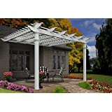 Freemont 12' x 12' Attached Vinyl Pergola
