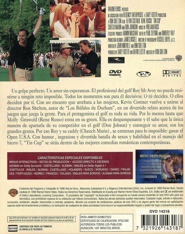 TIN CUP (DVD): Amazon.es: Kevin Costner, Cheech Marin, Dennis ...