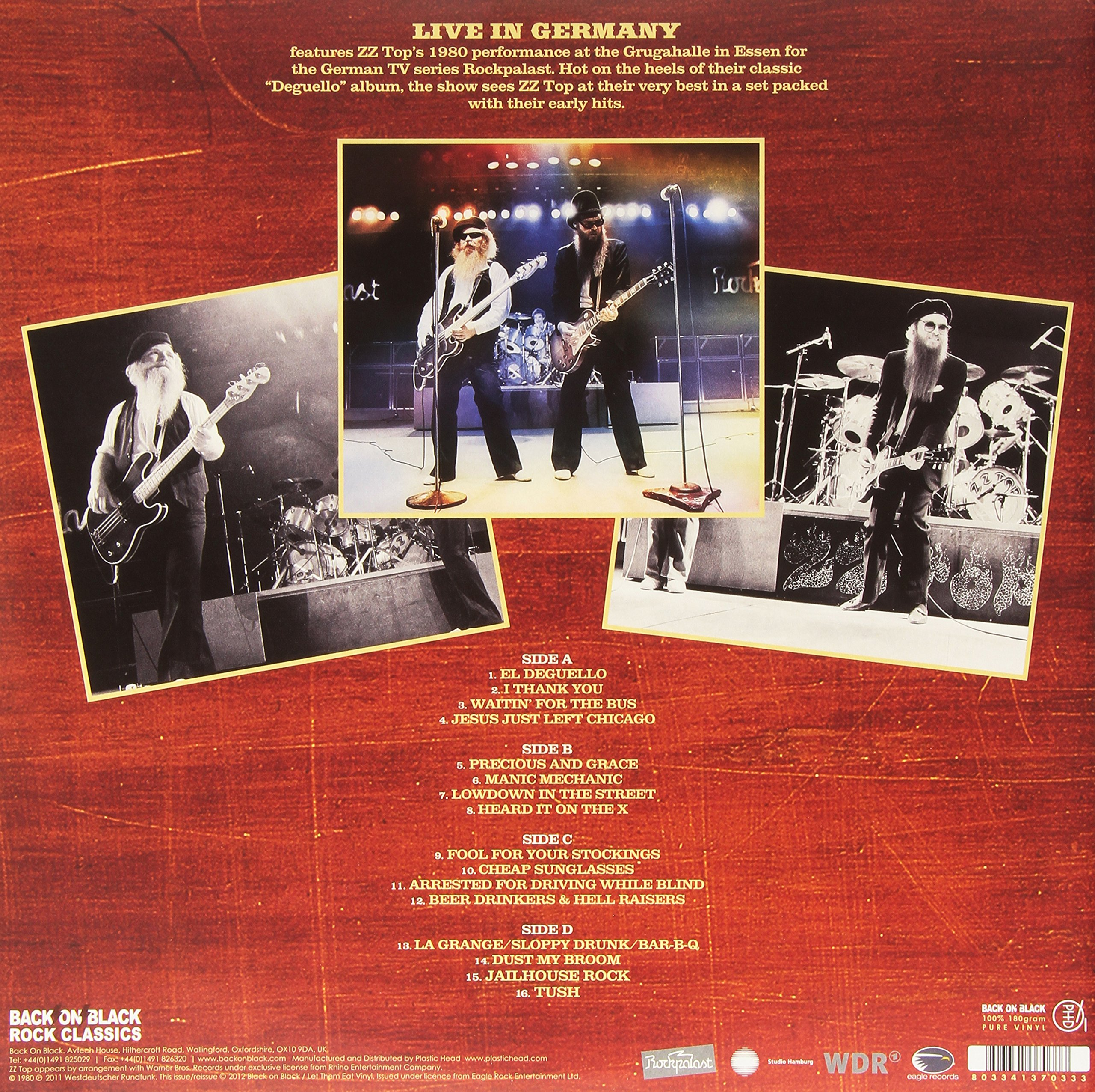 Live in Germany 1980 by Rock Classics