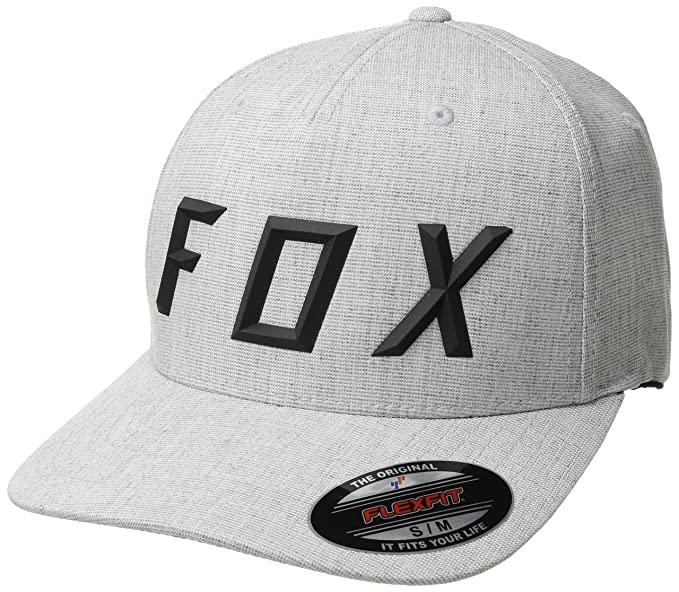 Gorra Fox Head Flexfit ~ Sonic Moth gris jaspeado