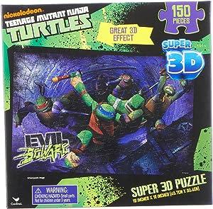 Teenage Mutant Ninja Turtles Super 3D Puzzle 150 Pieces