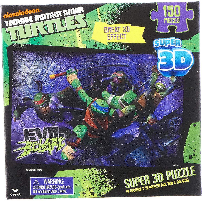 Teenage Mutant Ninja Turtles Super 3D Puzzle 150 Pieces by ...