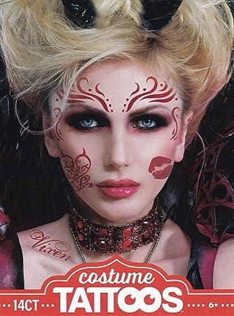Halloween Make Up Men.Halloween Realistic Temporary Costume Make Up Face Tattoo Kit Men Or Women Fallen