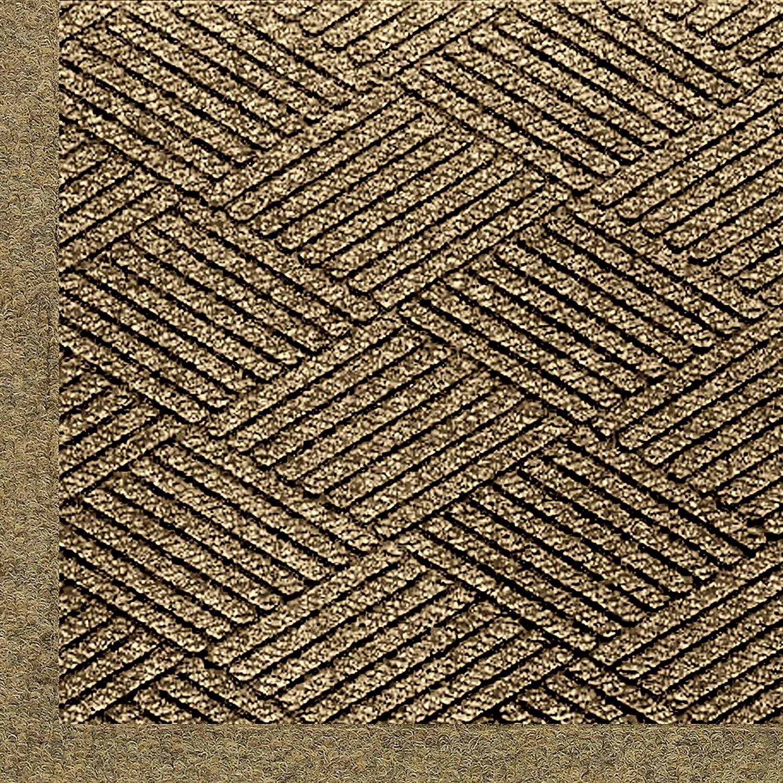 Andersen 2297 Waterhog Eco Premier Fashion Pet Polyester Fiber Indoor/Outdoor Floor Mat, SBR Rubber Backing, 4-Feet Length X 3-Feet Width, 3/8-Inch Thick, Khaki 4' Length x 3' Width 3/8 Thick 2297760034