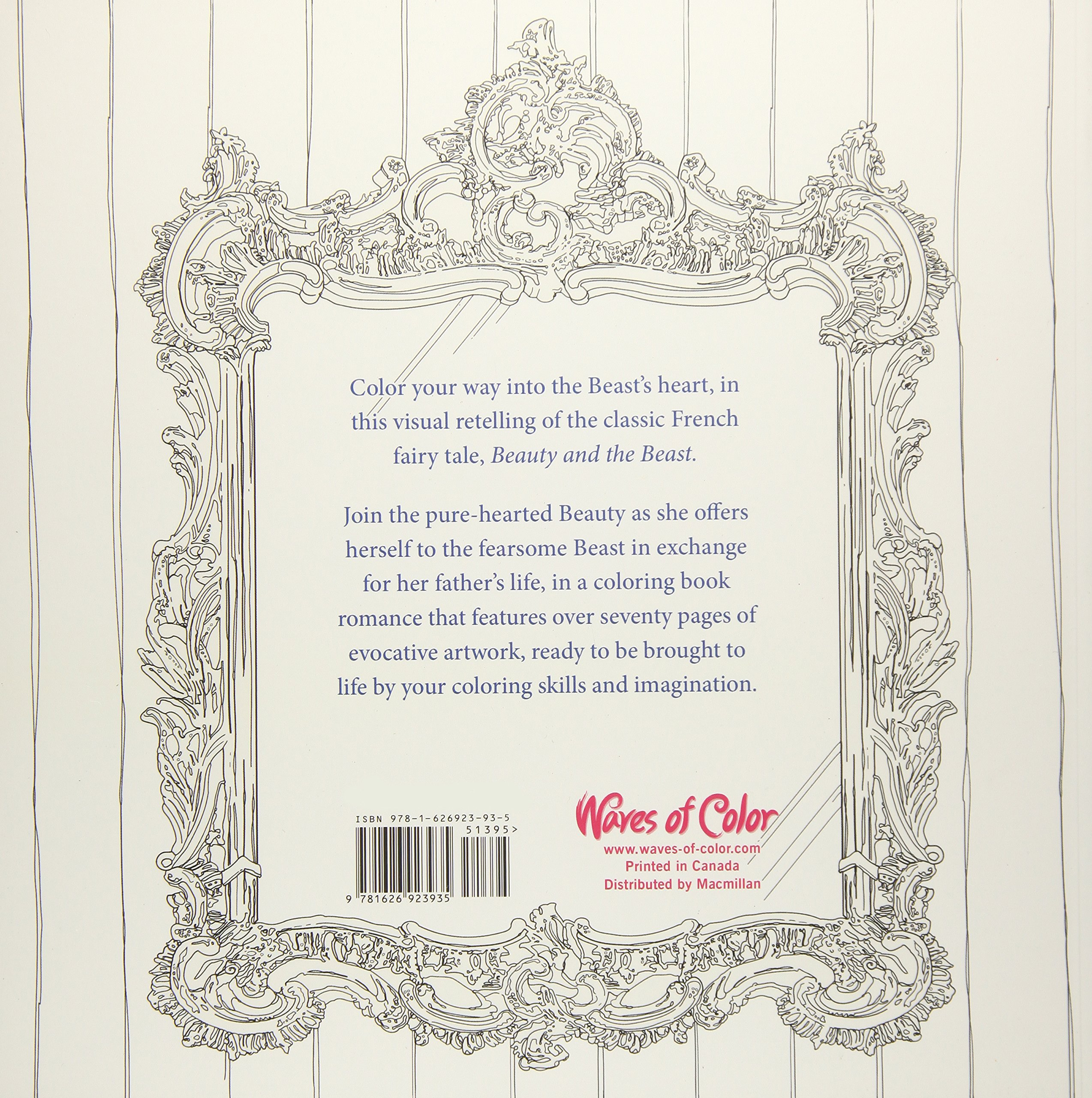 Color the Classics: Beauty and the Beast: A Deeply Romantic ...