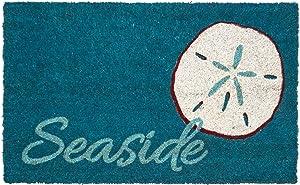 """Entryways Seaside Non- Slip Coconut Fiber Doormat 17"""" X 28"""" X .5 """""""