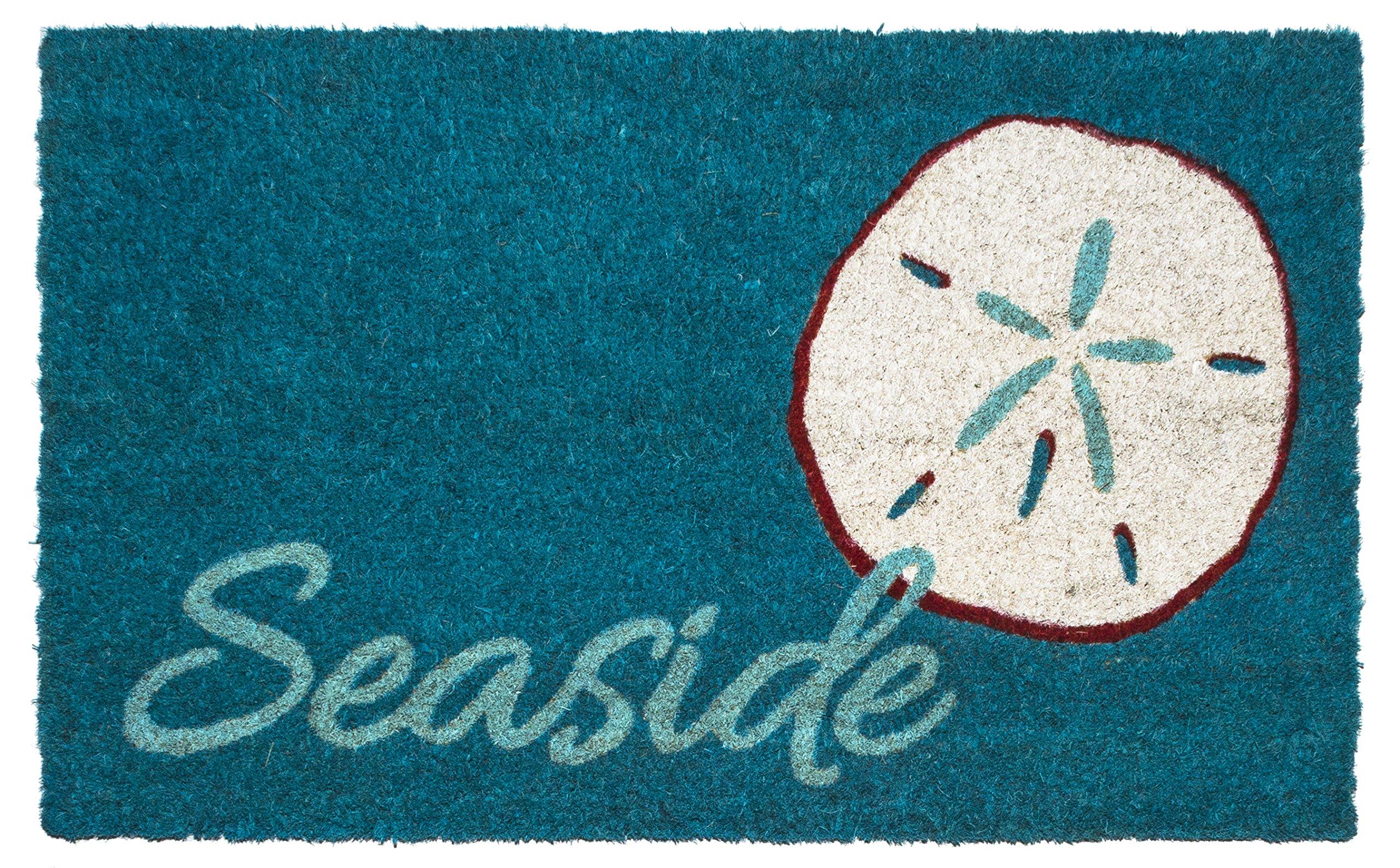Entryways Seaside Non- Slip Coconut Fiber Doormat 17'' X 28'' X .5 ''