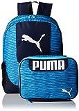 PUMA Big Kid's Lunch Box Backpack Combo, Blue, OS