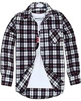 crbelte(クラベルテ) ギンガム チェック 柄 シャツ 長袖 ネルシャツ メンズ