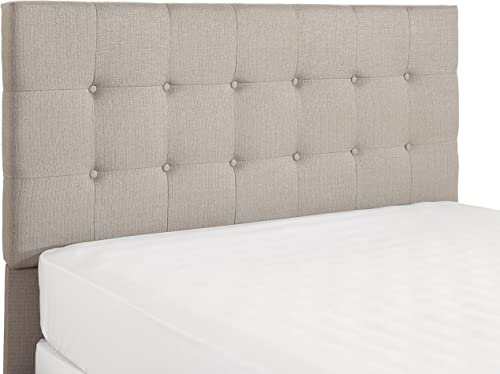Crosley Furniture Andover Faux Leather Button Tufted Headboard