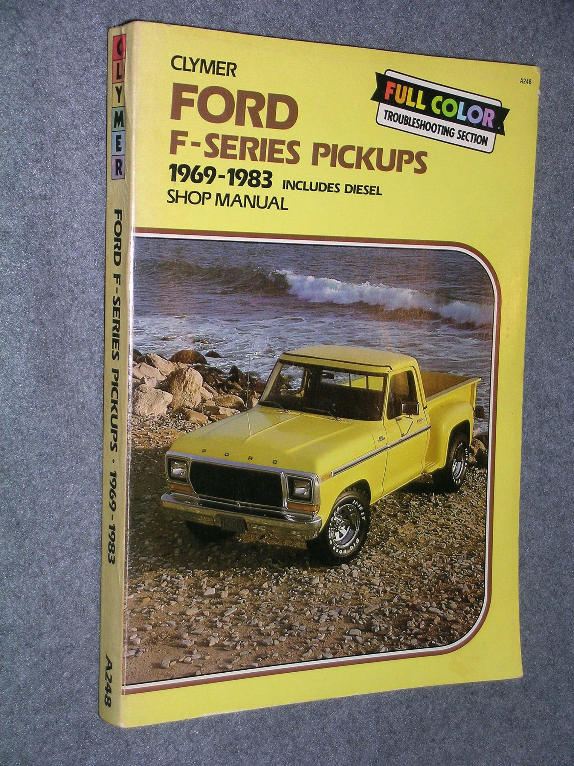 Ford F100-350 Pickups 1969-1984 Gas And Diesel Shop Manual: n/a:  9780892873036: Amazon.com: Books