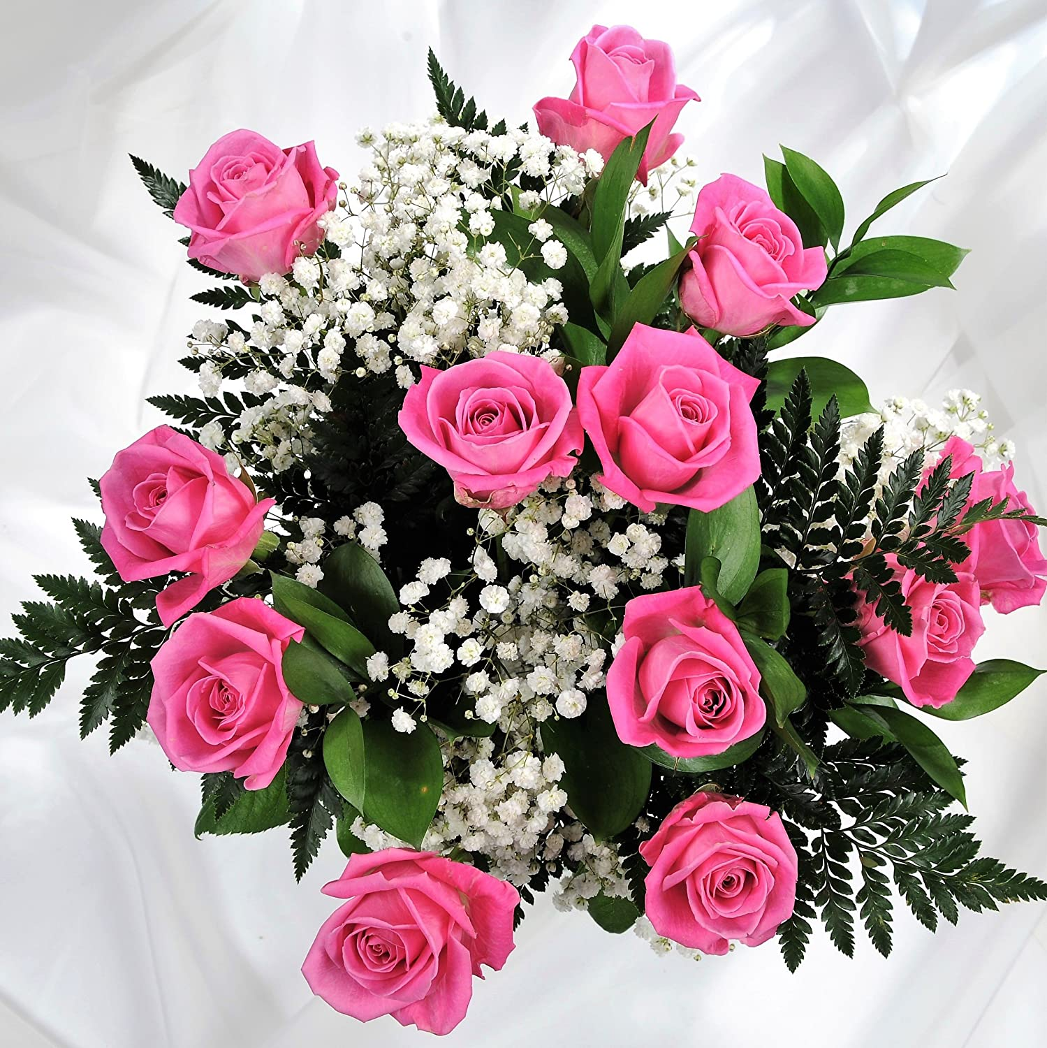Pink Passion Luxury Flower Bouquet Delivered 12 Pretty Pink