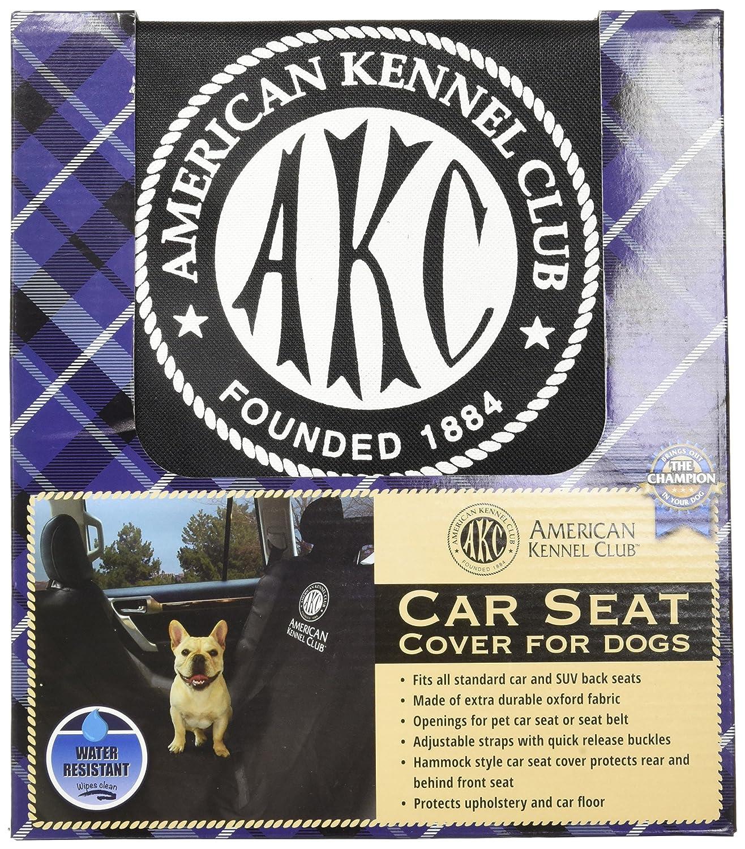 Amazon American Kennel Club Pet Car Seat Cover Black