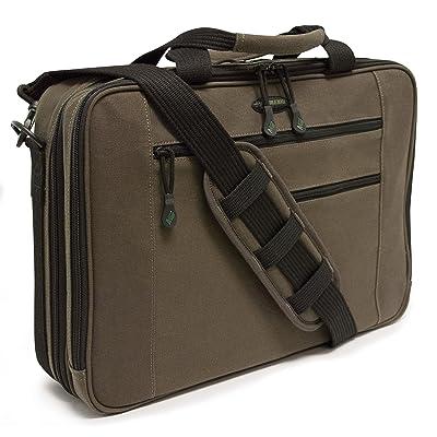 "85%OFF Mobile Edge Eco-Friendly Canvas 17"" Macbook Briefcase, Laptop Case"