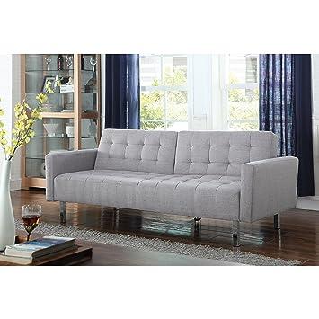 Amazon.com: Posavasos tela sofá con acabado en gris claro ...