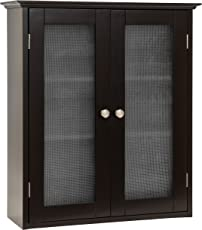 Best Choice Products Bathroom Wall Wood Medicine Cabinet Organization  Storage Space Saver W/ 3 Shelves