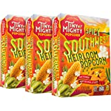 Tiny But Mighty Spicy Southwest Heirloom Popcorn - for the Microwave, Pack of 3