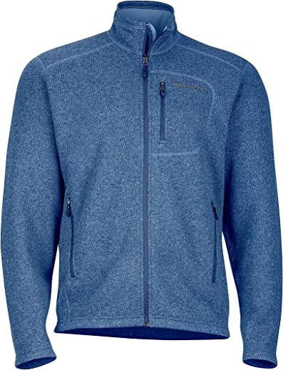 Marmot Men's Drop Line, Lightweight 100-Weight Sweater Fleece Jacket