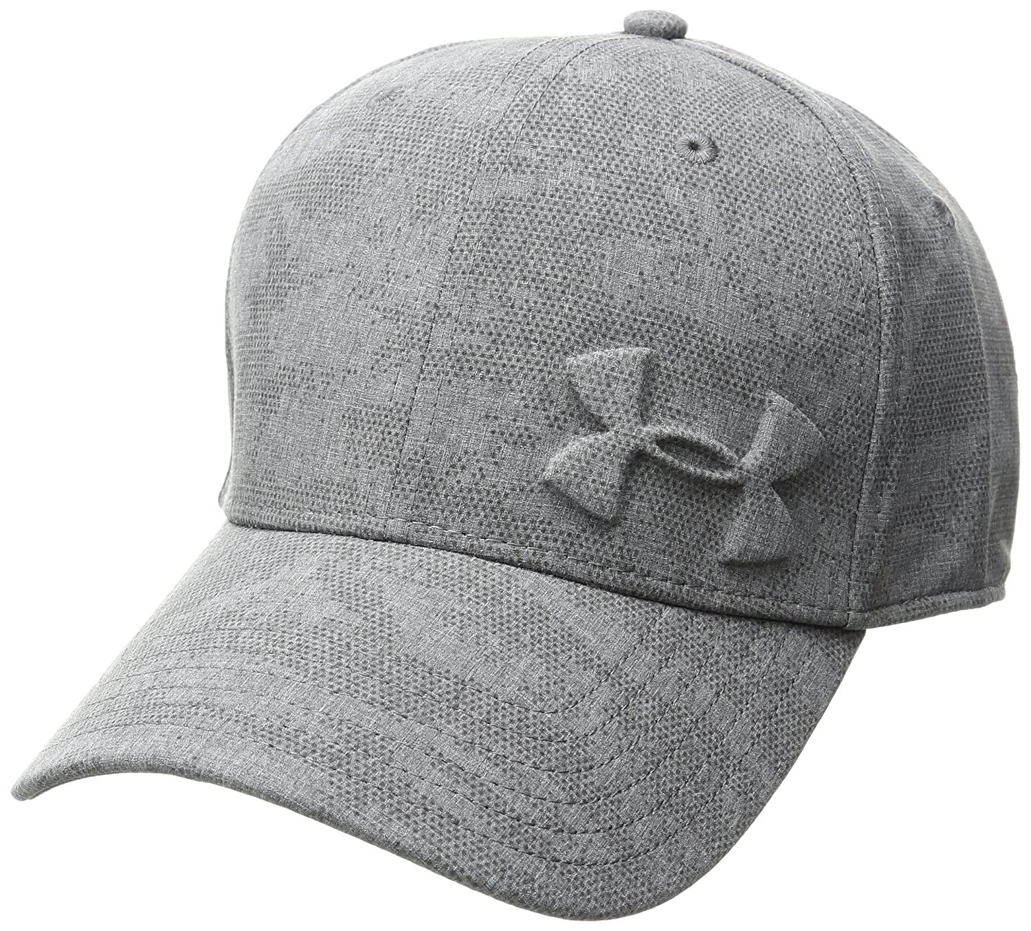 plain black under armour hat