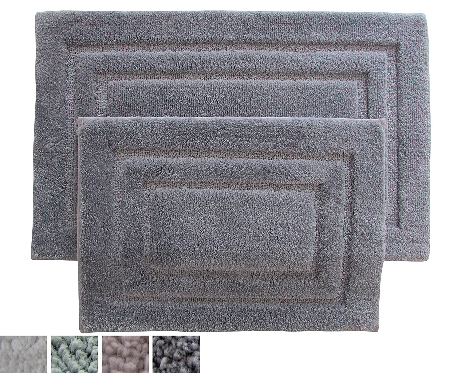 Shop Amazoncom Bath Rugs - Black and white tweed bath rug for bathroom decorating ideas