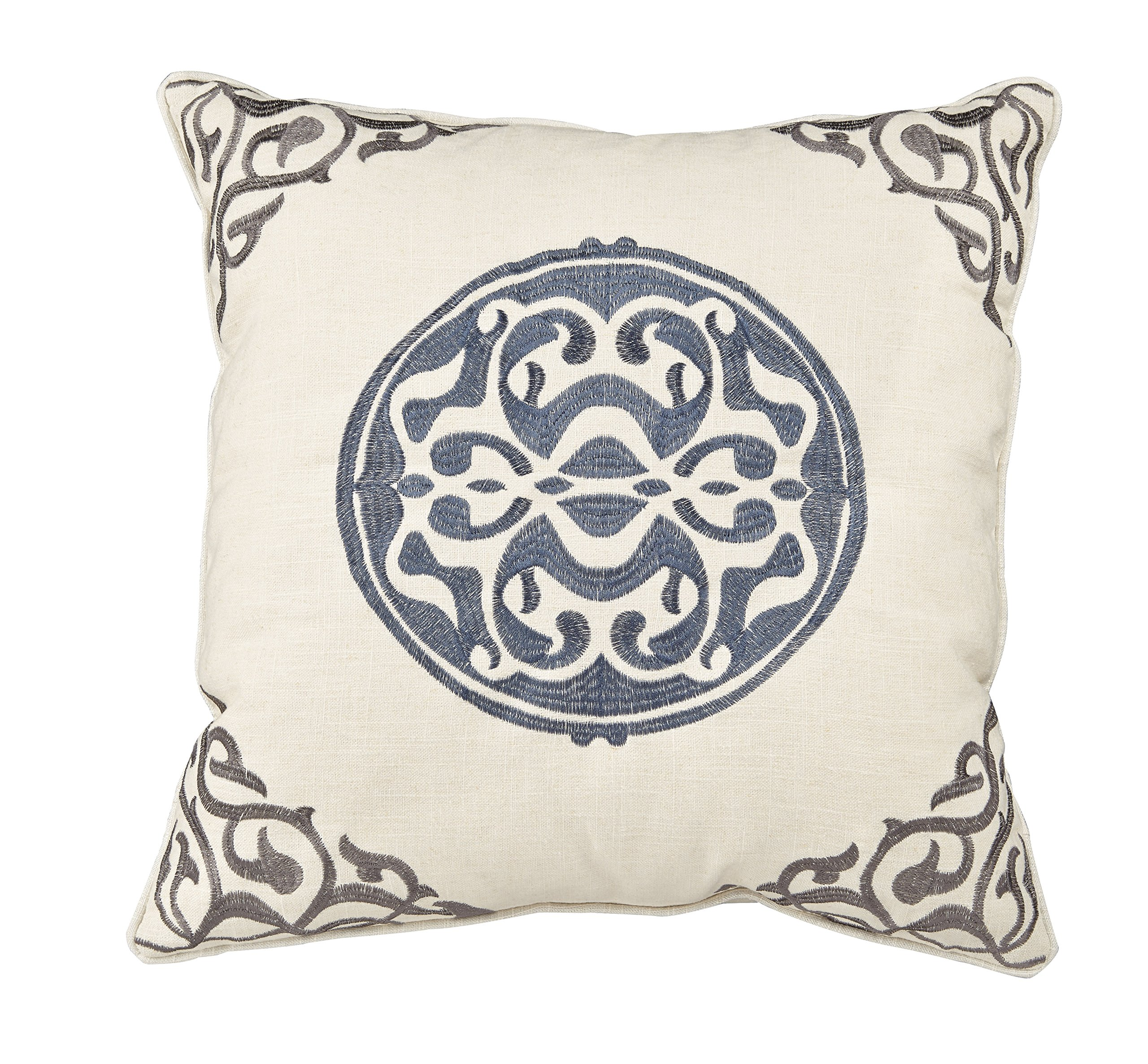 Universal Furniture P20-7008 Uniblue Medallion Accent Pillow
