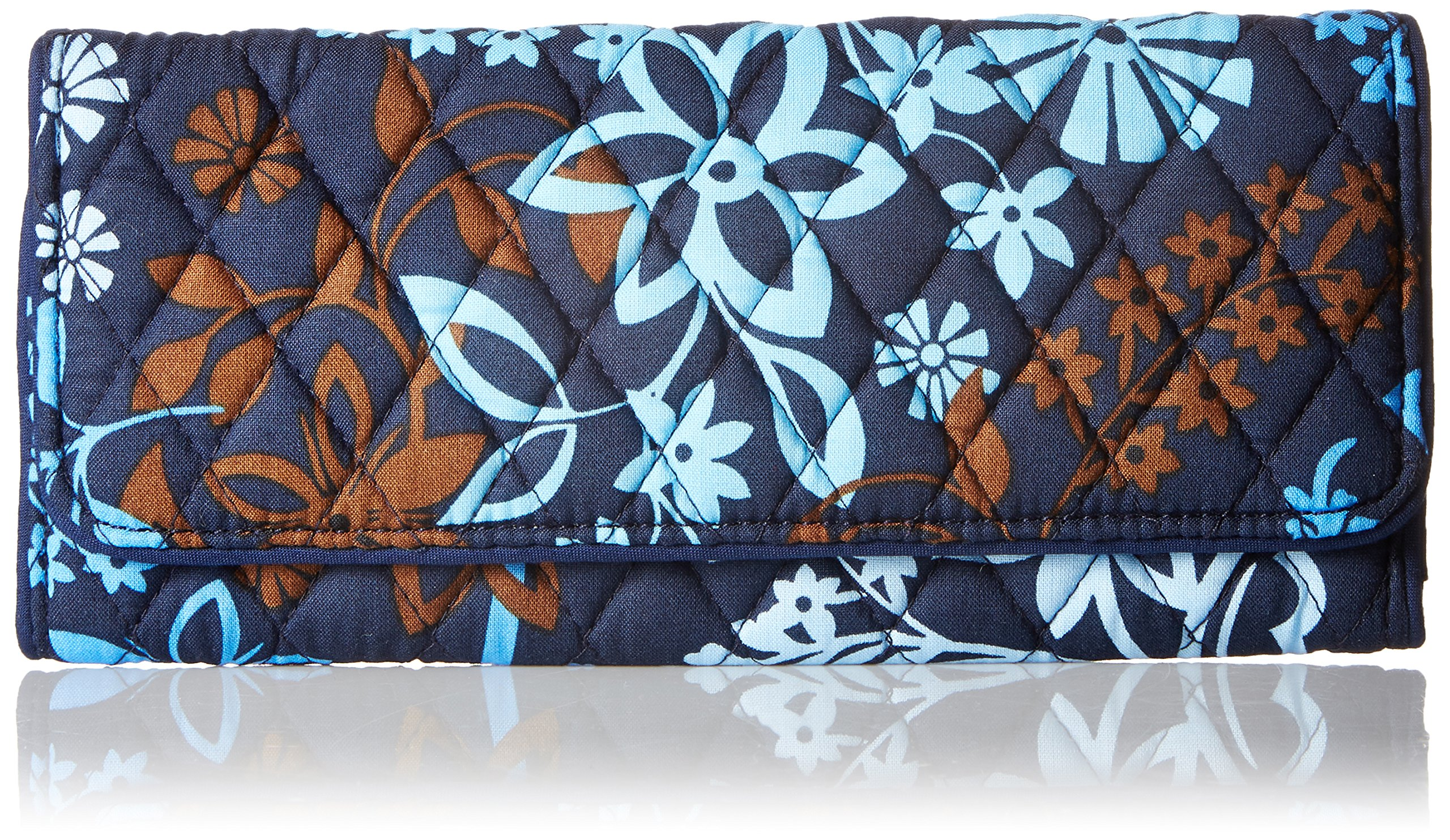 Vera Bradley Trifold Wallet, Java Floral, One Size