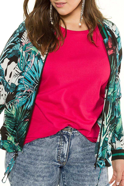 Studio Untold Womens Plus Size Jungle Print Jacket 716543