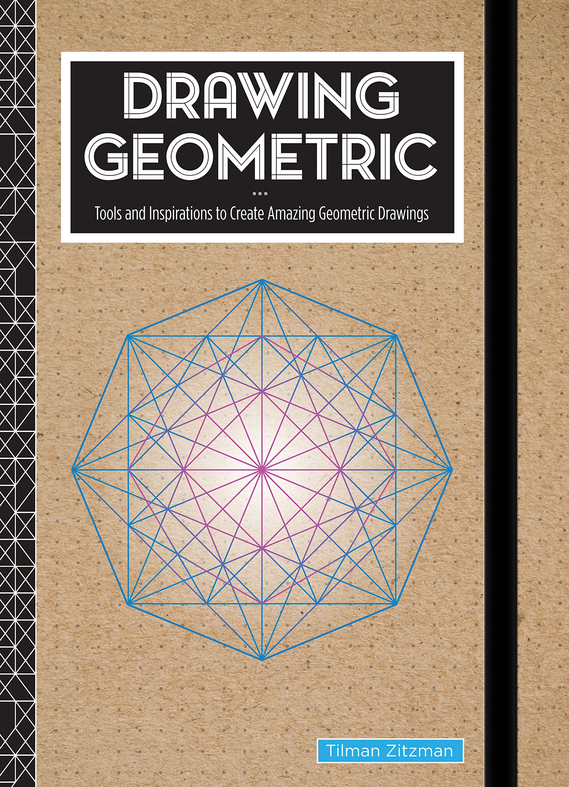 Drawing Geometric: Tools and Inspirations to Create Amazing Geometric Drawings - Includes: Sketchbook, Geometric Stencils, and More by Rock Point (Image #2)