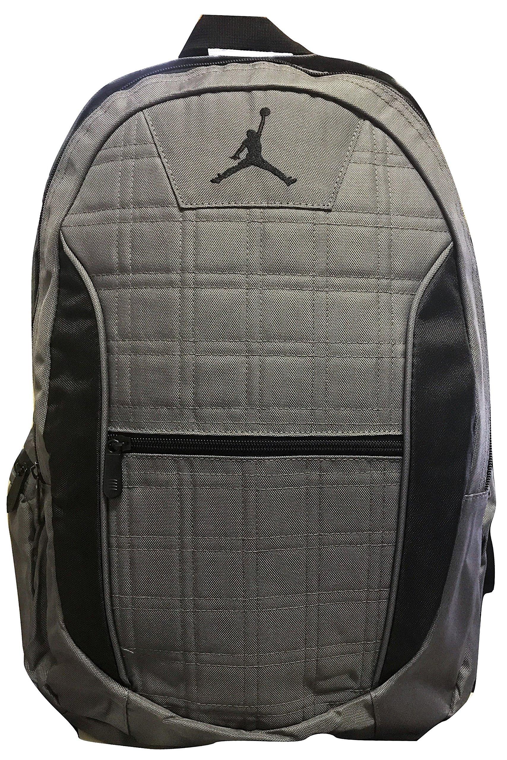 Jordan Grid 2-Strap Backpack - Dark Graphite, One Size (Grey)