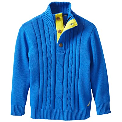 Nautica Big Boys' Cable Knit Sweater