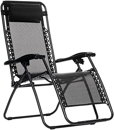 AmazonBasics Zero Gravity Chair   Black