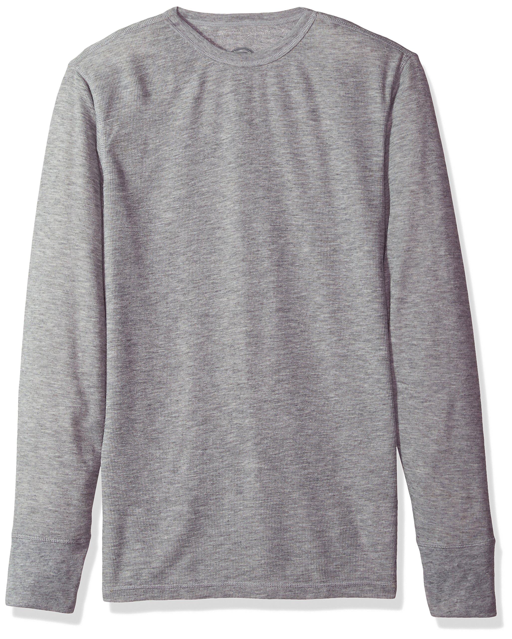 Dickies Men's Big Technical Wool Thermal Top, Heather Grey, Large/Tall by Dickies