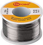 Fixpoint WT-51062 Rotolo Stagno per Saldatura, 100 gr, Diametro 0,56 mm, Argento, 1 pz.