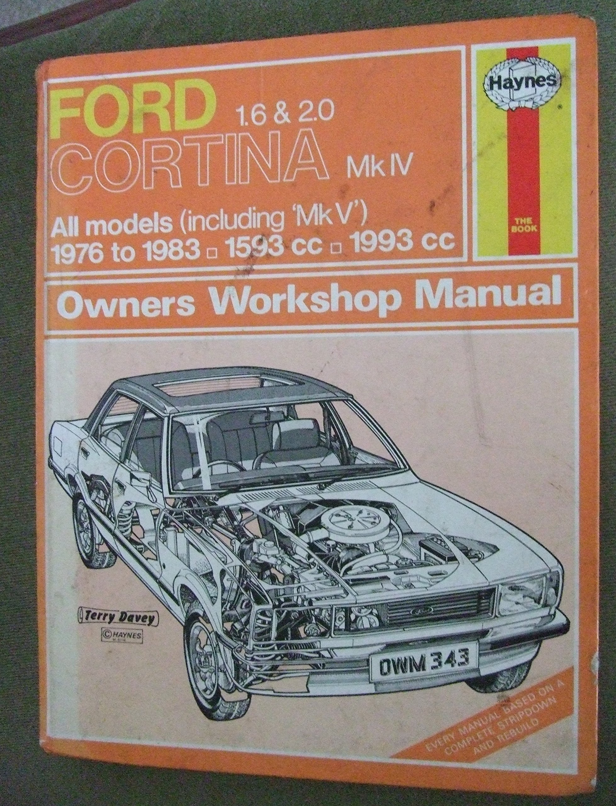 ford cortina mk iv 1 6 and 2 0 owners workshop manual amazon co uk rh amazon co uk Ford Corsair Ford Taunus
