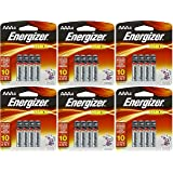 Energizer Max AAA Batteries, AAA4, 4-Count Packs - Total: 24 Batteries (6 X 4 Count Packs)