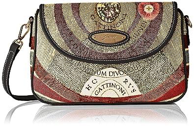Gattinoni Gacpu0000120, Borsa a tracolla Donna, Multicolore