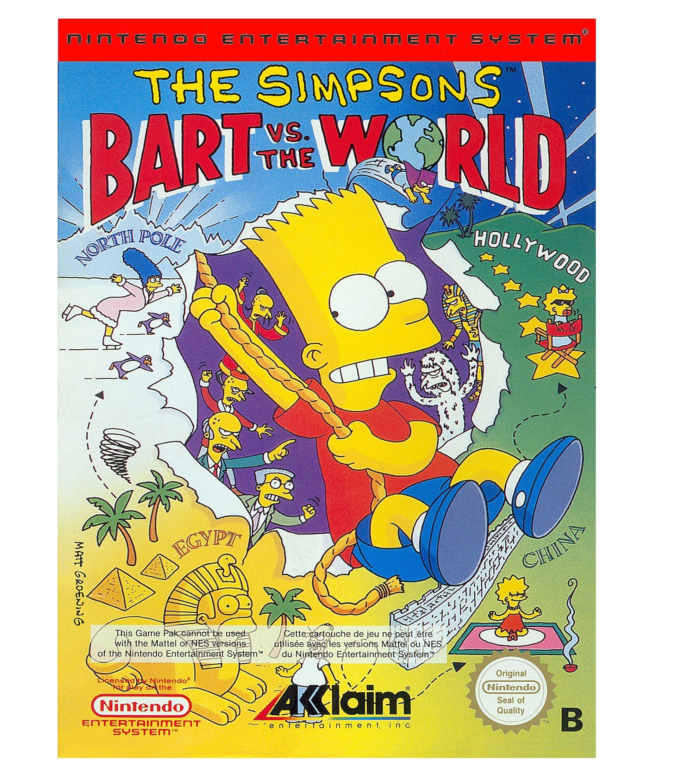 Amazon.com: The Simpsons: Bart vs. the World: Video Games