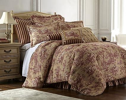 Amazon Com Sherry Kline Country Sunset Comforter Set King Home