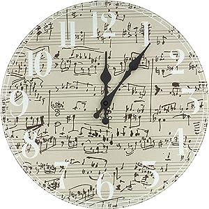 ORIENTAL Furniture Symphony Score Wall Clock