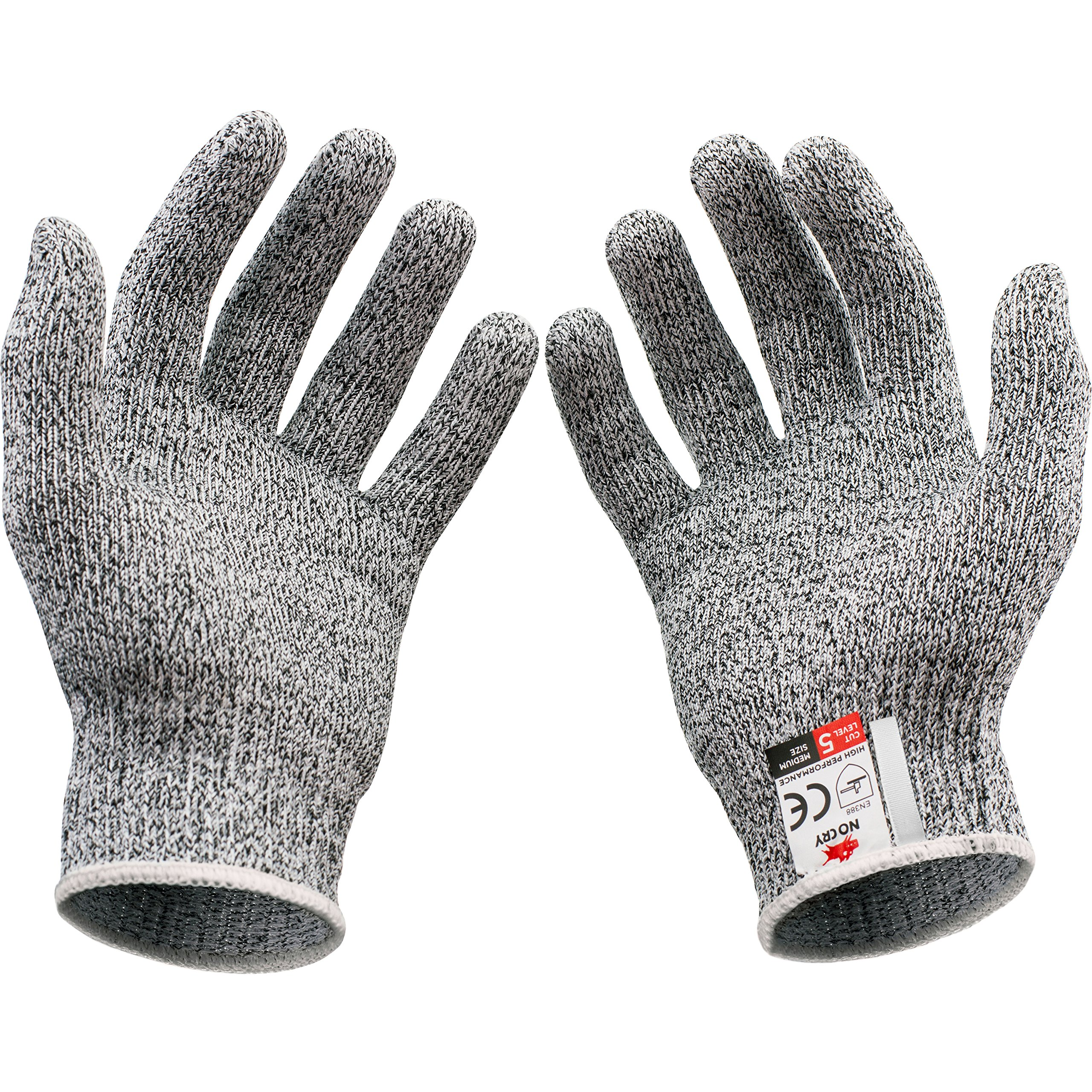 NoCry Cut Resistant Gloves - High Performance Level 5 Protection, Food Grade. Size Medium, Free Ebook Included! by NoCry (Image #8)