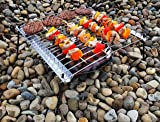 UCO Grilliput Quattro Collapsible Camping Grill, 17