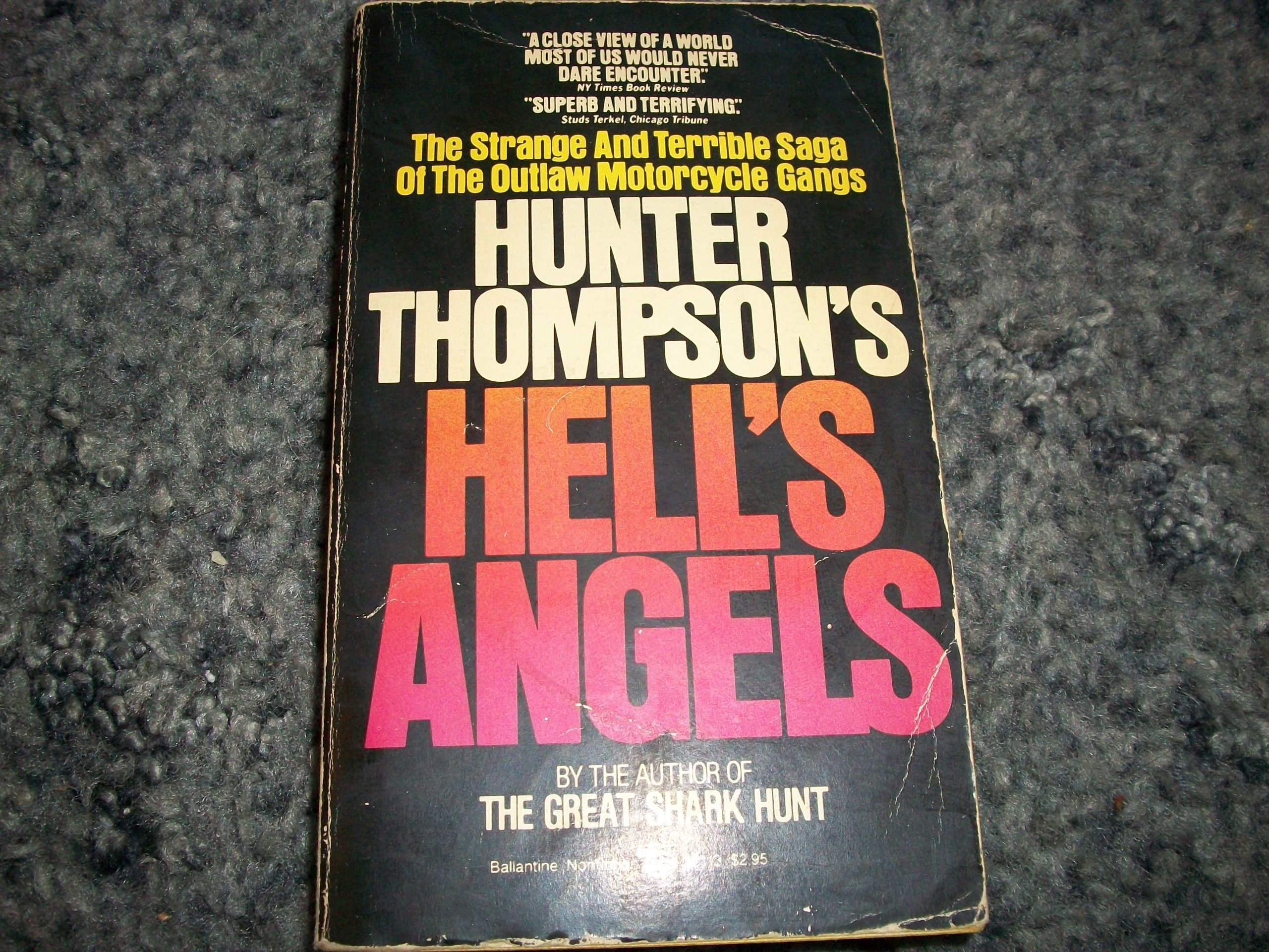 HELL'S ANGELS, Thompson, Hunter S.