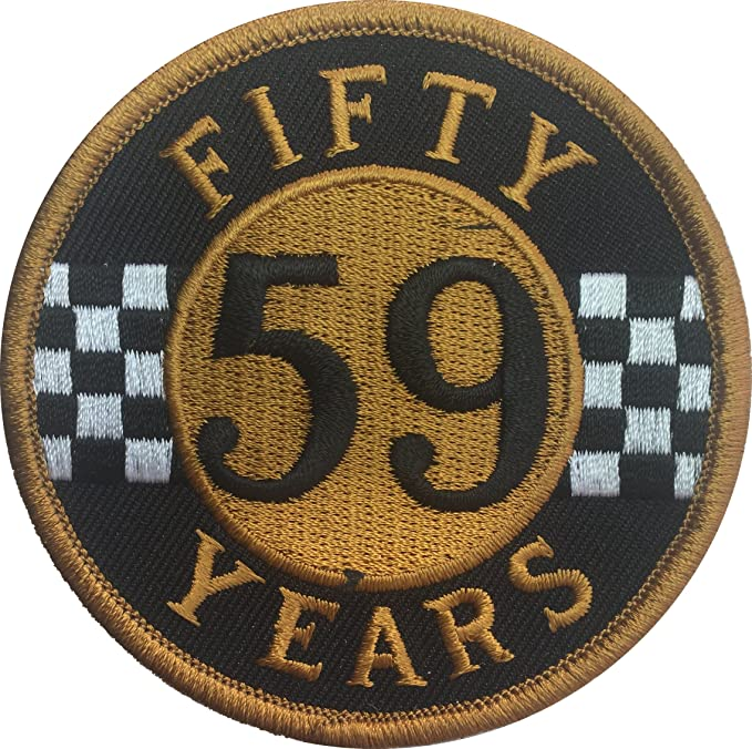 Patch Squad Mens 59 Club 50 Year Rocker Ace Cafe Racer Triumph Ton Up Amazonca Clothing Accessories
