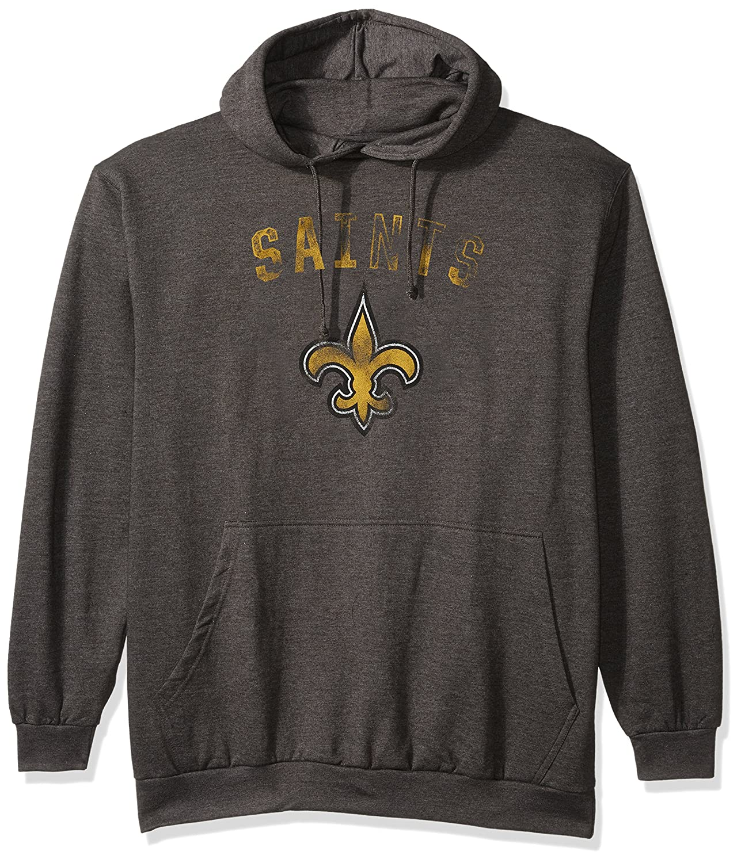 NFL Mens Saints Pullover Hood W Crew