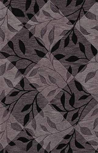 Dalyn Rugs Studio Sd 21 8-Feet by 10-Feet Area Rug, Black